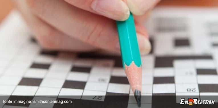 Allena il tuo cervello con 10 parole crociate facili e con soluzioni!